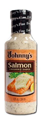 Johnny's Salmon Finishing Sauce 12 Oz(Pack of 3)