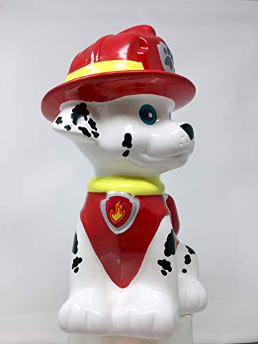 Paw Patrol Marshall Ceramic Coin Bank by Paw Patrol (Image #1)