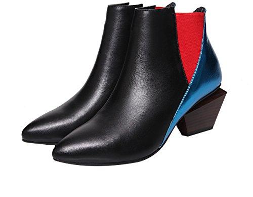 On Pull Scarpe Donna Block Blue Vaneel Black 5cm Vbn4 Boots wXHRI4