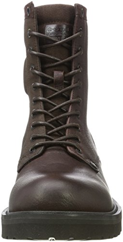 Hombre Deconstructed Marrón Botas Presting Star Brown Estilo Dk G Motero Raw para AxZ8wF