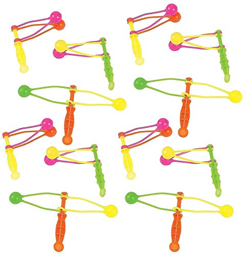 Clackers 3.75 Inches - Pack of 12 - Assorted Neon Colors Fun Classic Noise Makers - for Kids Great Party Favors, Bag Stuffers, Fun, Toy, Gift, Prize ,Piñata Fillers - -