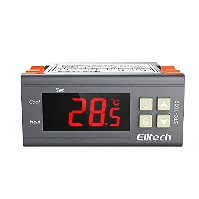 Elitech All-purpose Temperature Controller STC-1000 With sensor For USA Canada 110V