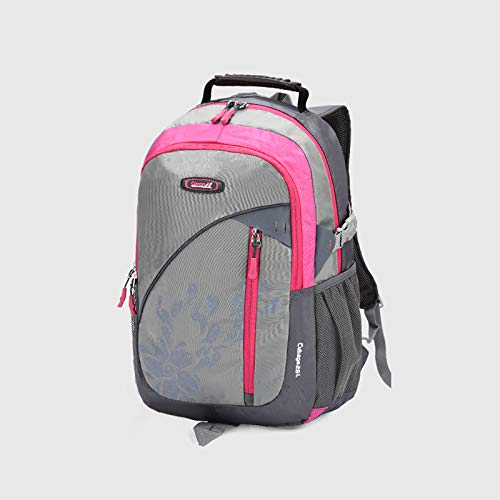Teenager Boys and Girls Fashion Large Capacity Reduce Ridge Burden Waterproof Rucksack Mochila Backpack Junior high Student Bags ...