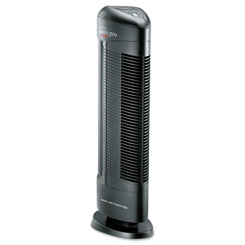 Ionic Pro : Turbo Ionic Air Purifier w/Germicidal Chamber/Oxygen Filter, 500 sq. ft. rm. cap -:- Sold as 2 Packs of - 1 - / - Total of 2 Each