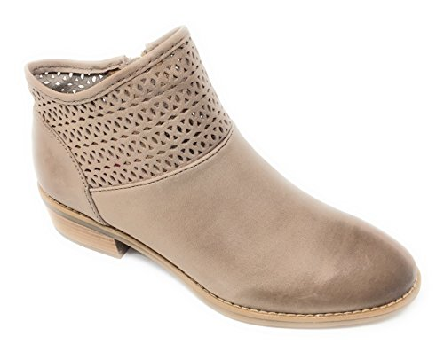 Comfortiva Women's Cailean Taupe Leather 7.5 B(M) US