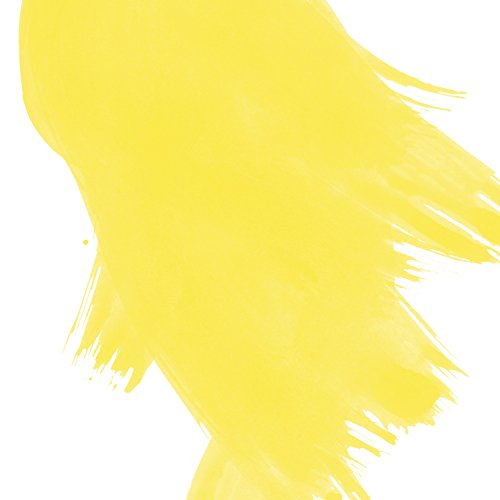 Akua Liquid Pigment Ink, 4 oz Bottle, Semi-Transparent, Lemon Yellow (AKLY) by Akua