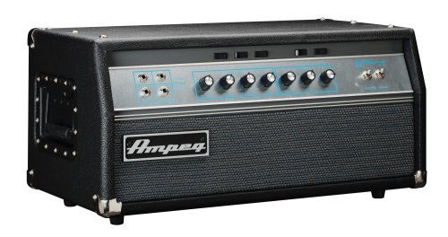 Ampeg SVTVR Classic Series Vintage Reissue Tube Bass Amplifier Head, 300 Watt (Speakers Series Classic 1/4)