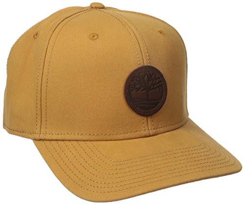 Timberland Men's Cotton Canvas Baseball Cap, Wheat, One - Hats Ti