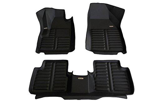 TuxMat Custom Car Floor Mats for Dodge Dart 2013-2016 Models- Laser Measured, Largest Coverage, Waterproof, All Weather.The BestDodge Dart Accessory. (Full Set - - Dart Set Dodge