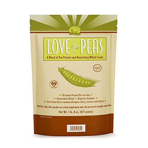 Nature's Sunshine Love and Peas, 675gr. Bag | Vegan Protein Powder with Natural Pea Protein and Other Nourishing Whole Foods and Nutrients