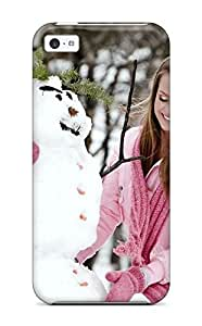 Fashion Gcvqfgc6563wzTHL Case Cover For Iphone 5c(campbell Twins On Snow Women People Women)