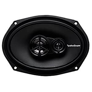 "2) Rockford Fosgate R169X3 6x9"" 260W + 2) 6.5"" 180W 3-Way Speakers + 400W Amp"