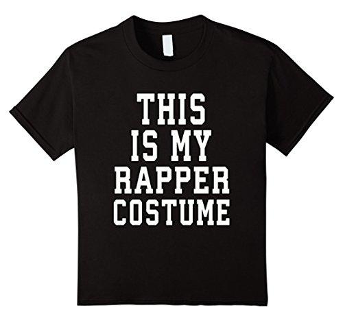 Kids This Is My Rapper Costume Halloween TShirt 12 (Hip Hop Kids Costume)