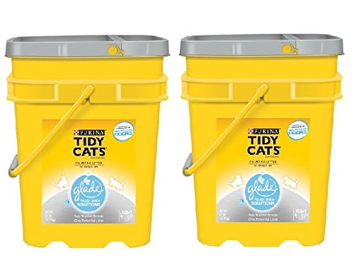 purina-tidy-cats-glade-tough-odor-solutions-clear-springs-clumping-cat-litter-35-lb-pail-pack-of-2