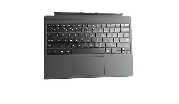 Teclado del Ordenador portátil para For Todo el Caso PalmRest ...