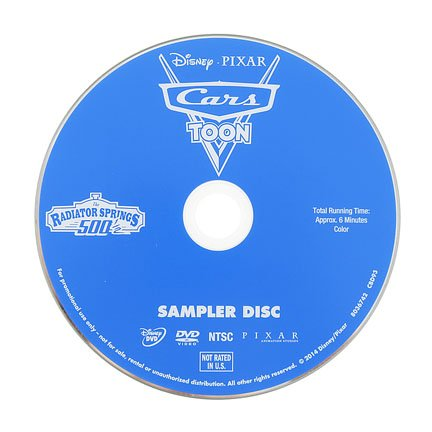 Fisher-Price Disney Cars Off-Road Racin' Lightning McQueen Robot - Replacement DVD