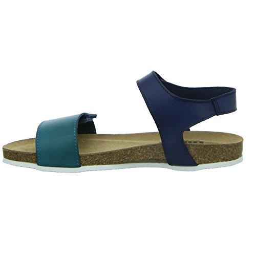 Femme Femme Sandales LONGO Bleu Bleu Sandales pour LONGO LONGO Femme pour Sandales Bleu pour wfU60qfA