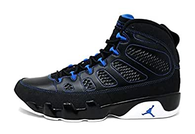 info for ab146 07b68 Image Unavailable. Image not available for. Color  Nike Mens Air Jordan 9  Retro Photo Blue Black White-Photo Blue Leather Size