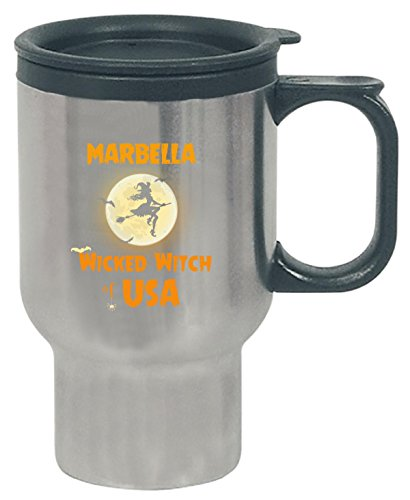 Marbella Wicked Witch Of Usa Halloween Gift - Travel Mug