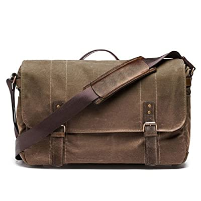 high-quality ONA - The Union Street - Camera Messenger Bag - Field Tan Waxed Canvas (ONA5-003RT)