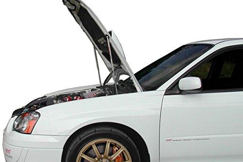 Redline Tuning 21-36002-02 Hood QuickLIFT PLUS System (All Black Components, 4 year warranty) Compatible for Subaru Impreza WRX ()