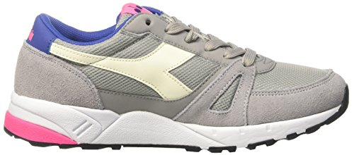 Paloma Basses Sneaker 90 Diadora Run Fluo Mixte rosa Gris Adulte grigio 7AqxF8w