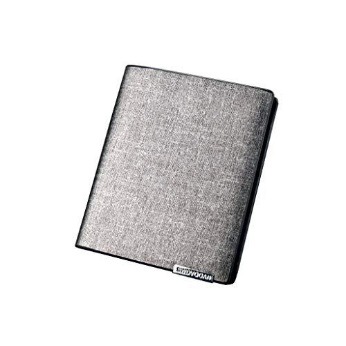 (Men's Wallet,PAQOZ Wallet Fashion Wallet Multi-Function Retro Long Wallet Card Package)