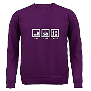 Dressdown Eat Sleep Chess - Unisex Sweater - 9 Colours