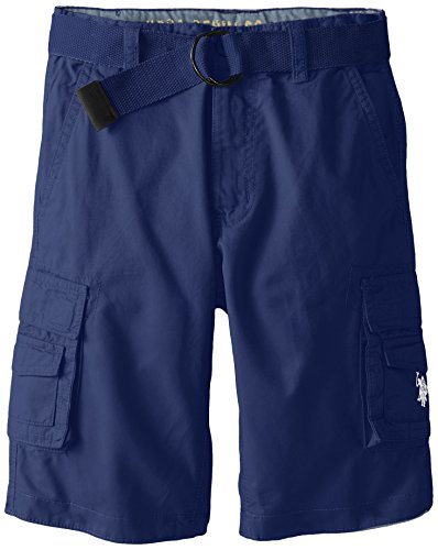 U S Polo Assn Twill Belted