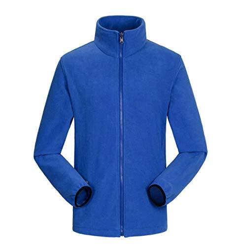 Blue2 Outdoor Warm Two 3 Men's Piece 1 Jacket Set Waterproof in Windproof PqWZF