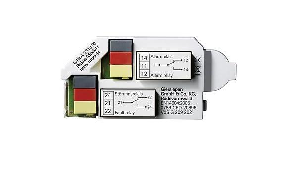 Gira 234000 relé de doble-detectores de humo detector de: Amazon.es: Bricolaje y herramientas
