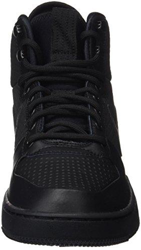 Nike Herren Rechter Borough Mid Winter Basketballschuhe Schwarz (zwart / Zwart)