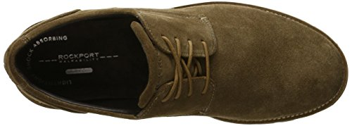 Rockport Mens Sharp and Ready Colben Oxford New Vicuna Suede Z4w0IsPrB