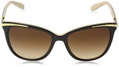 Nude Black Ralph de Sol Gafas para Mujer qnxFwH64Z