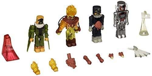 Diamond Select Toys Marvel Minimates: Villain Zombies vs. Age of Ultron Secret Wars Box Set Action Figure by Diamond Select