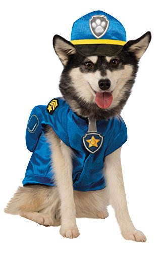 Paw Patrol Chase Dog Costume (Cop Costumes For Dogs)