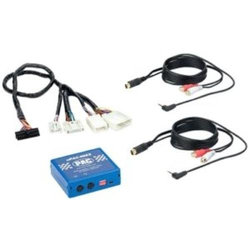 Pac Dual Auxiliary Audio (PAC aPAC-NIS2 Dual Auxiliary Audio Input for Select 2007¿2009 Nissan Vehicles)
