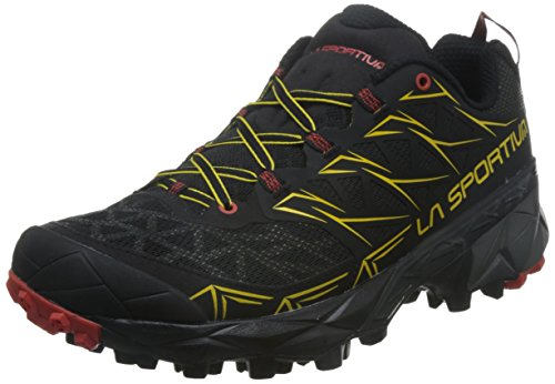 La Sportiva Men's Akyra Trail Running Shoes, Blue, 13.5 Black (Black 000)