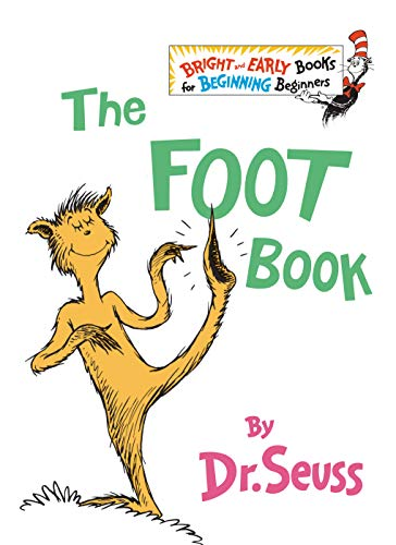 The Foot Book (The Bright and Early Books for Beginning Beginners) from Dr. Seuss