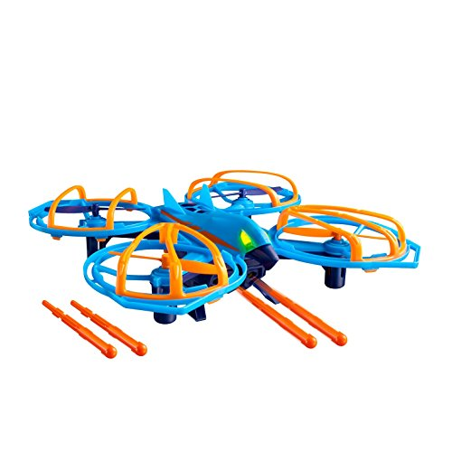 (Drone Force Vulture Strike-2.4Ghz Indoor/Outdoor Drone Helicopter Toy with Missile Launcher Feature)