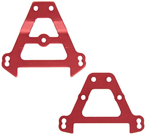 Alum Front Bulkhead - Traxxas 5323R Red-Anodized Aluminum Bulkhead Tie Bars, (F&R)