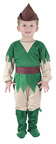 GUBA Little Boys' Robin Hood Medieval World Book Day Party Costume Toddler 2-4 Years Robin Hood