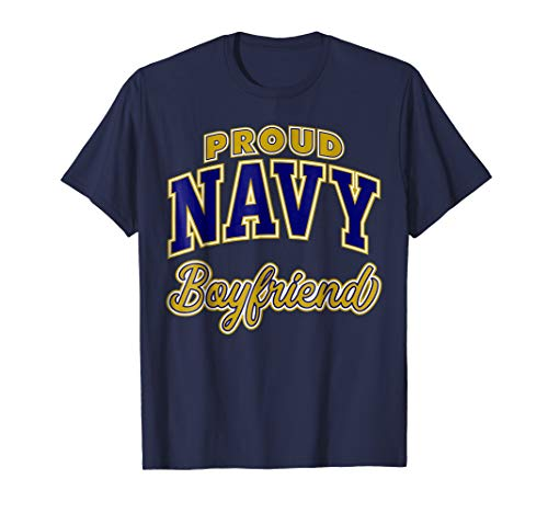 Mens Proud Navy Boyfriend Shirt