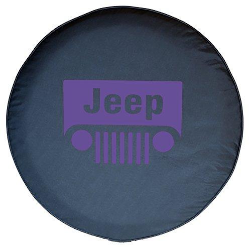 purple jeep wrangler wheel cover - 9
