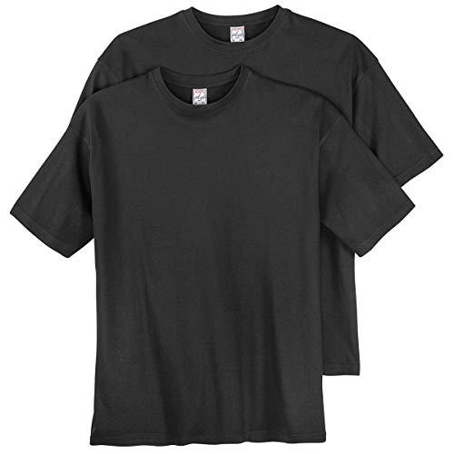 Lotto nera 2 shirt di dimensioni grandi t Adamo di wxqpwvR