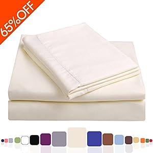 balichun microfiber bed sheet set super soft. Black Bedroom Furniture Sets. Home Design Ideas