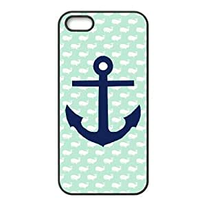 Customized case Of Blue Chevron Anchor Hard Case for iPhone 5,5S
