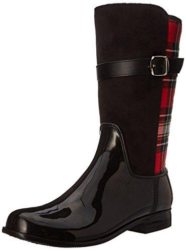 Nomad Womens Beta Rain Boot Black/Red Plaid LVjI6e