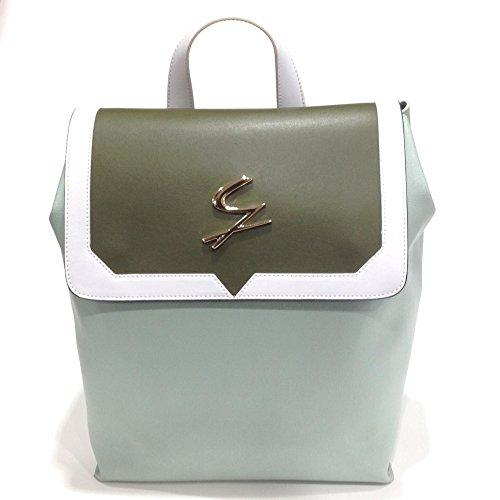 Gattinoni , Sac à main porté au dos pour femme multicolore Verde/bianco/salvia