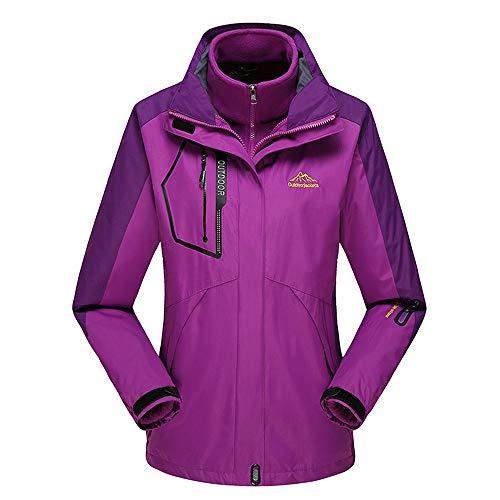 Di Outdoor E Da Abbigliamento Grandi Giacche Alpinismo Ainamei Donna Purple Dimensioni t0AaB4